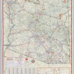 Old maps of Arizona