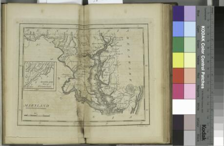 Maryland / W. Barker sculp.; Carey's American pocket atlas; containing nineteen maps... with a brief description of each state.