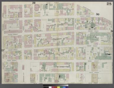 Plate 28: Map bounded by Henry Street, Grand Street, Corlears Street, South Street, Montgomery Street