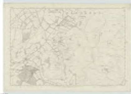 Peebles-shire, Sheet VIII - OS 6 Inch map