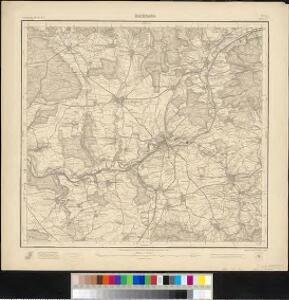 Meßtischblatt 45 = [7022] : Backnang, 1903