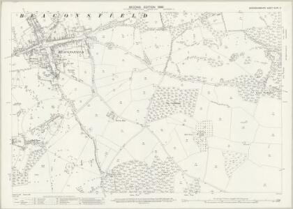 Buckinghamshire XLVIII.9 (includes: Beaconsfield) - 25 Inch Map