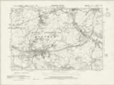 Cheshire XI.NE - OS Six-Inch Map