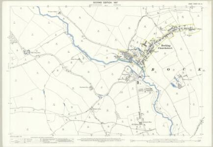 Essex (1st Ed/Rev 1862-96) XXV.6 (includes: Braintree and Bocking; Panfield) - 25 Inch Map