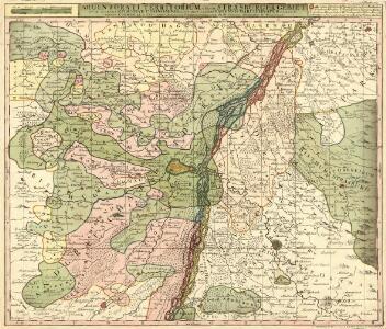 Argentorati Territorium, vulgo Strasburger Gebiet Cum Maxima Episcopatus Cognominis, ac Occidentaliori Badensis Marchionatus Parte &c.