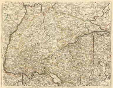 Le Cercle de Souabe et partie de Celuy de Franconie