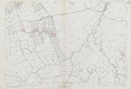 Somerset LXXXIX.1 (includes: Chiselborough; Merriott; Norton Sub Hamdon; South Petherton; West Chinnock) - 25 Inch Map