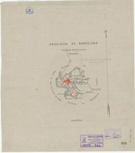 Mapa planimètric de Navarcles