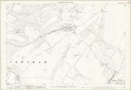 Kent XLIV.3 (includes: Doddington; Eastling; Newnham) - 25 Inch Map