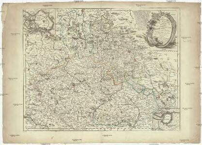 Le royaume de Boheme, le duché de Silesie, les marquisats de Moravie, Lusace et Misnie