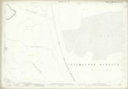 Sussex LXXII.2 (includes: Havant; West Thorney) - 25 Inch Map