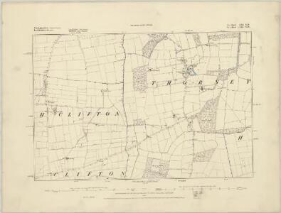 Nottinghamshire XXI.SW - OS Six-Inch Map