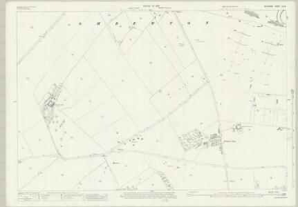 Wiltshire LIV.5 (includes: Figheldean; Shrewton) - 25 Inch Map
