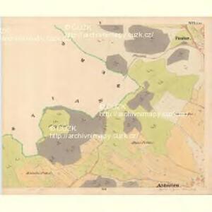 Krzizowitz - c3672-1-005 - Kaiserpflichtexemplar der Landkarten des stabilen Katasters