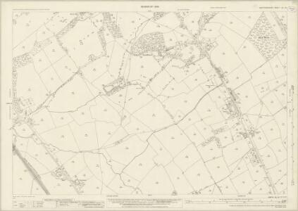Hertfordshire XL.13 (includes: Aldenham; Ridge; Shenley) - 25 Inch Map