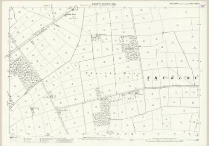 Lincolnshire LXXVII.15 (includes: Norton Disney; Swinderby; Thurlby) - 25 Inch Map