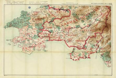 South Wales and the border in the 14th century