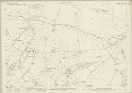 Berkshire XLII.11 (includes: East Woodhay; Enborne; Hampstead Marshall) - 25 Inch Map