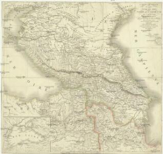Carte générale du pays entre les mers Noire et Caspienne