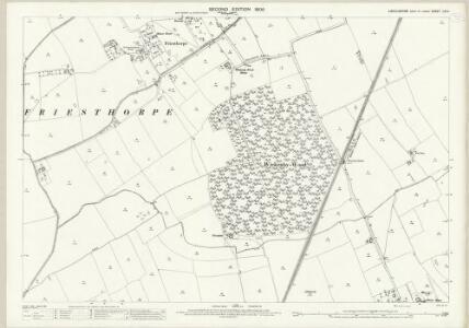 Lincolnshire LIII.11 (includes: Buslingthorpe; Freisthorpe; Wickenby) - 25 Inch Map