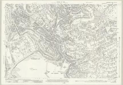 Devon CXVI.14 (includes: Torquay) - 25 Inch Map
