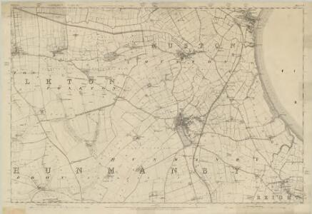 Yorkshire 110 - OS Six-Inch Map