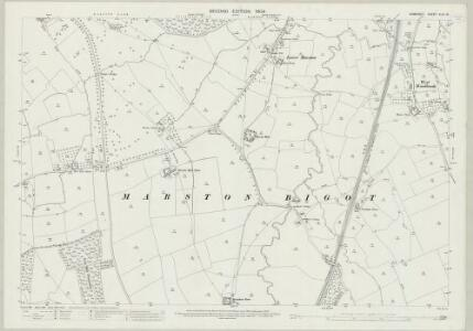 Somerset XLIII.10 (includes: Selwood; Trudoxhill) - 25 Inch Map
