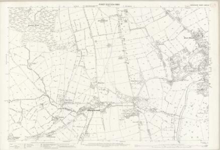 Derbyshire XXXIX.16 (includes: Belper; Hazlewood; Milford; Shottle and Postern) - 25 Inch Map