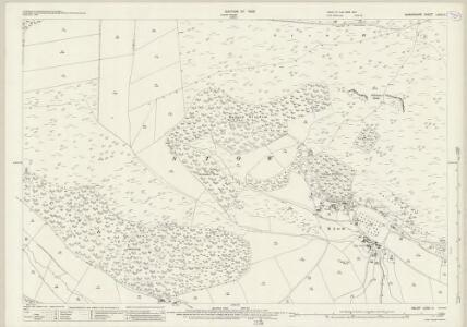 Shropshire LXXVI.11 (includes: Clun; Stowe) - 25 Inch Map
