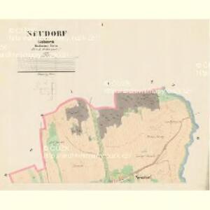 Neudorf - c5211-1-001 - Kaiserpflichtexemplar der Landkarten des stabilen Katasters
