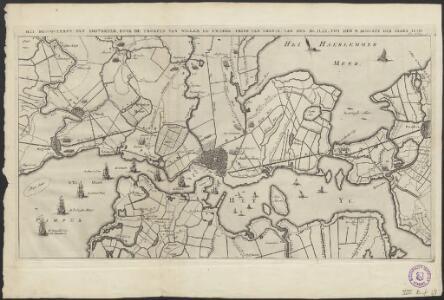 Het blocqueeren van Amsterdam, door de troepen van Willem de Tweede, prins van Oranje, van den 30 july tot den 4 augustus des jaars 1650
