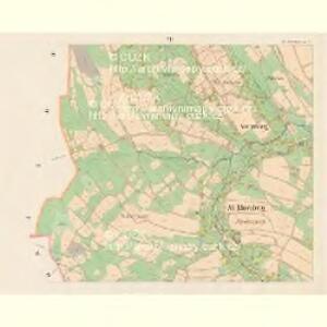 Stary Ehrenberg - c7264-2-007 - Kaiserpflichtexemplar der Landkarten des stabilen Katasters