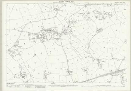 Devon LVI.16 (includes: Bradninch; Broad Clyst; Silverton) - 25 Inch Map