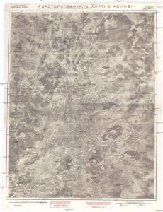 Carte aerotopographique a ́ Athens