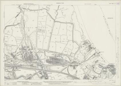Kent X.1 (includes: Northfleet; Swanscombe) - 25 Inch Map