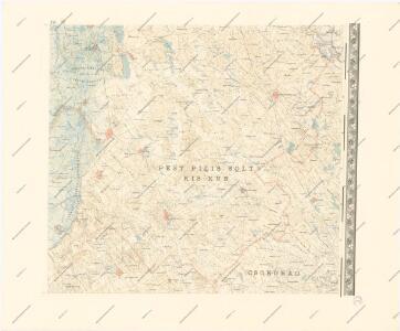 A Dunavölgy Átnézeti Térképe, Carte d ́ensemble del la Vallée du Danube XVI.