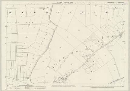 Cambridgeshire XXIX.10 (includes: Haddenham) - 25 Inch Map