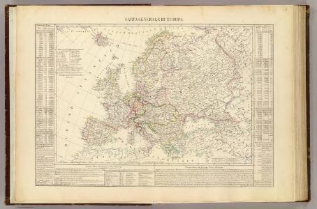 Carta generale di Europa.