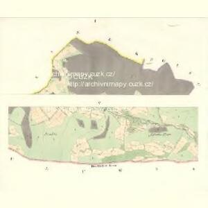 Osnitza - m2209-1-001 - Kaiserpflichtexemplar der Landkarten des stabilen Katasters