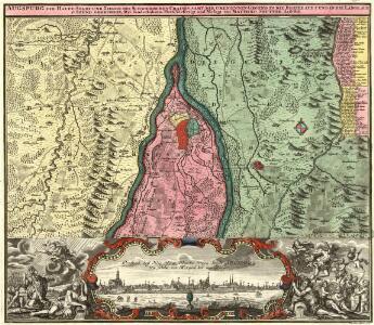 Augspurg die Haupt-Stadt und Zierde des Schwaebischen Craises