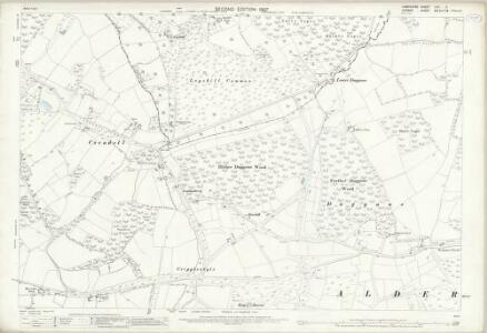 Hampshire and Isle of Wight LXII.5 (includes: Alderholt; Cranborne; Damerham) - 25 Inch Map