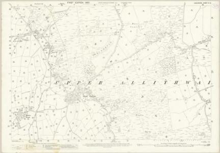 Lancashire XII.8 (includes: Staveley; Upper Allithwaite) - 25 Inch Map