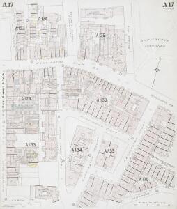 Insurance Plan of London Western District Vol. A: sheet 17