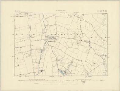 Gloucestershire XIII.NW - OS Six-Inch Map