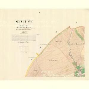 Suchow - m2955-1-001 - Kaiserpflichtexemplar der Landkarten des stabilen Katasters
