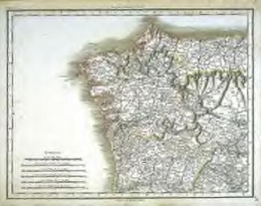 [Carte d'Espagne et de Portugal en neuf feuilles, 1]