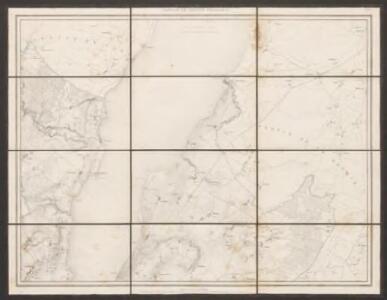 Carte topographique du canton de Genève