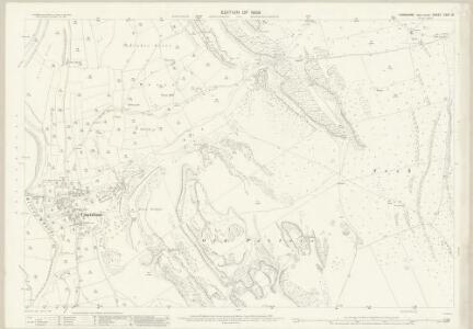 Yorkshire CXVI.13 (includes: Conistone With Kilnsey; Grassington) - 25 Inch Map