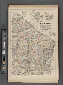 Monroe County, Double Page Plate No. 5  [Map of town of Greece, Manitou Beach]