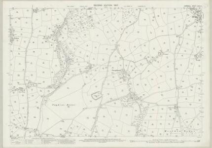 Cornwall LXXVI.8 (includes: Constantine; Wendron) - 25 Inch Map